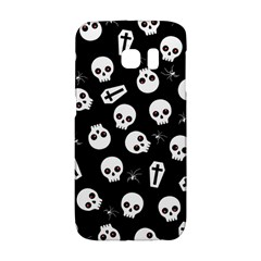 Skull, Spider And Chest    Halloween Pattern Galaxy S6 Edge by Valentinaart