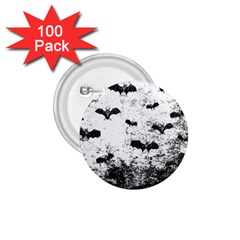 Vintage Halloween Bat Pattern 1 75  Buttons (100 Pack)  by Valentinaart
