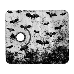 Vintage Halloween Bat Pattern Galaxy S3 (flip/folio) by Valentinaart