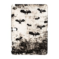 Vintage Halloween Bat Pattern Galaxy Note 1 by Valentinaart