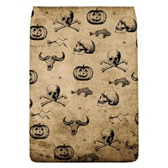 Vintage Halloween Pattern Flap Covers (l)  by Valentinaart