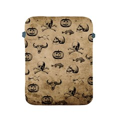 Vintage Halloween Pattern Apple Ipad 2/3/4 Protective Soft Cases by Valentinaart