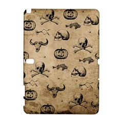 Vintage Halloween Pattern Galaxy Note 1 by Valentinaart