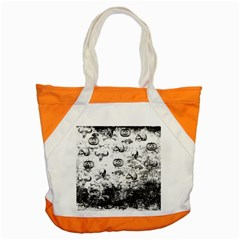 Vintage Halloween Pattern Accent Tote Bag