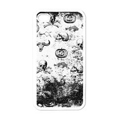 Vintage Halloween Pattern Apple Iphone 4 Case (white) by Valentinaart
