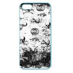 Vintage Halloween Pattern Apple Seamless Iphone 5 Case (color)