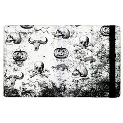 Vintage Halloween Pattern Apple Ipad 3/4 Flip Case by Valentinaart