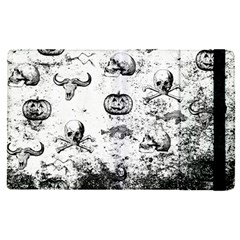 Vintage Halloween Pattern Apple Ipad Pro 12 9   Flip Case by Valentinaart