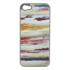 Imagesart Li Photo 27 06 2017, 8 10 22 Am Cara Azul Apple Iphone 5 Case (silver) by MaryIllustrations