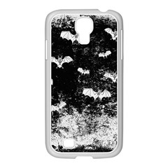 Vintage Halloween Bat Pattern Samsung Galaxy S4 I9500/ I9505 Case (white) by Valentinaart