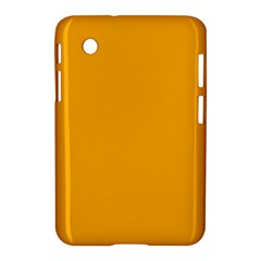 Pale Pumpkin Orange Creepy Hollow Halloween  Samsung Galaxy Tab 2 (7 ) P3100 Hardshell Case  by PodArtist