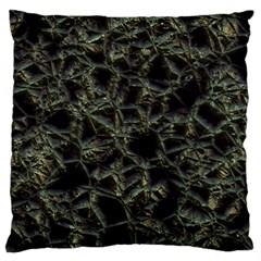 Jagged Stone 2d Standard Flano Cushion Case (two Sides) by MoreColorsinLife