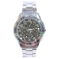 Jagged Stone 3a Stainless Steel Analogue Watch by MoreColorsinLife