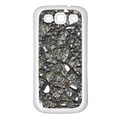 Jagged Stone 3a Samsung Galaxy S3 Back Case (white) by MoreColorsinLife