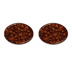 Jagged Stone 2b Cufflinks (oval) by MoreColorsinLife