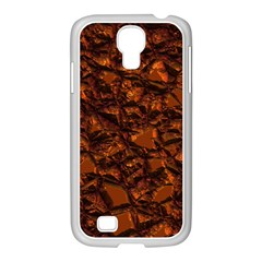 Jagged Stone 2b Samsung Galaxy S4 I9500/ I9505 Case (white) by MoreColorsinLife