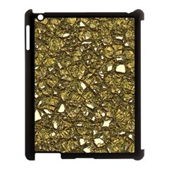 Jagged Stone 3b Apple Ipad 3/4 Case (black) by MoreColorsinLife