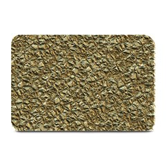 Jagged Stone Golden Plate Mats by MoreColorsinLife