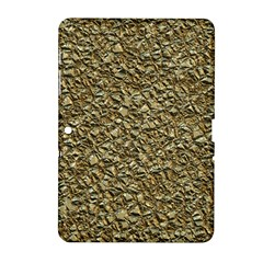 Jagged Stone Golden Samsung Galaxy Tab 2 (10 1 ) P5100 Hardshell Case  by MoreColorsinLife