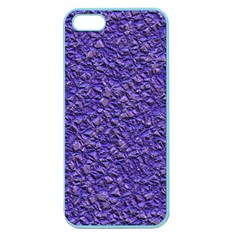 Jagged Stone Blue Apple Seamless Iphone 5 Case (color) by MoreColorsinLife