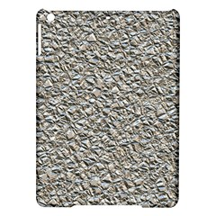 Jagged Stone Silver Ipad Air Hardshell Cases by MoreColorsinLife