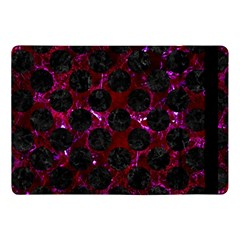 Circles2 Black Marble & Burgundy Marble (r) Apple Ipad Pro 10 5   Flip Case by trendistuff