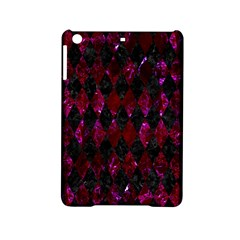 Diamond1 Black Marble & Burgundy Marble Ipad Mini 2 Hardshell Cases by trendistuff