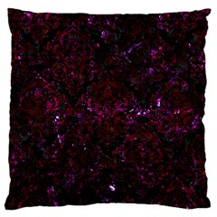 Damask1 Black Marble & Burgundy Marble Standard Flano Cushion Case (two Sides) by trendistuff