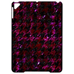 Houndstooth1 Black Marble & Burgundy Marble Apple Ipad Pro 9 7   Hardshell Case by trendistuff