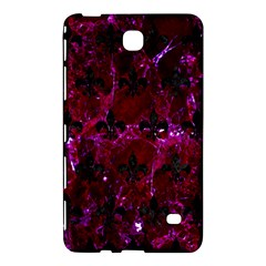 Royal1 Black Marble & Burgundy Marble Samsung Galaxy Tab 4 (7 ) Hardshell Case  by trendistuff