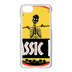 Jurassic Dad Dinosaur Skeleton Funny Birthday Gift Apple Iphone 7 Seamless Case (white) by PodArtist