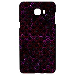 Scales2 Black Marble & Burgundy Marble Samsung C9 Pro Hardshell Case  by trendistuff