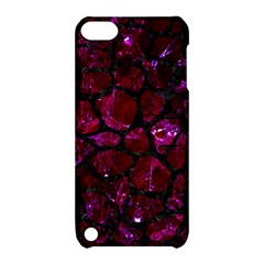 Skin1 Black Marble & Burgundy Marble Apple Ipod Touch 5 Hardshell Case With Stand by trendistuff