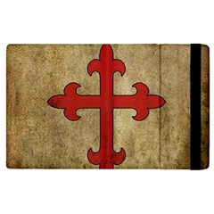 Crusader Cross Apple Ipad Pro 9 7   Flip Case by Valentinaart