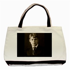 Sergei Yesenin Basic Tote Bag by Valentinaart