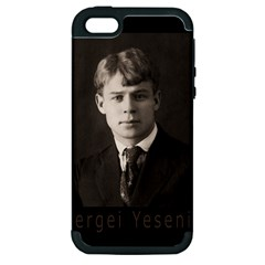 Sergei Yesenin Apple Iphone 5 Hardshell Case (pc+silicone) by Valentinaart