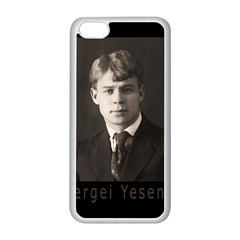 Sergei Yesenin Apple Iphone 5c Seamless Case (white) by Valentinaart