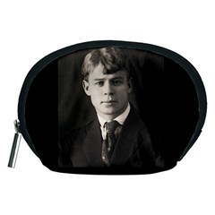 Sergei Yesenin Accessory Pouches (medium)  by Valentinaart