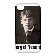 Sergei Yesenin Apple Iphone 4/4s Hardshell Case With Stand by Valentinaart