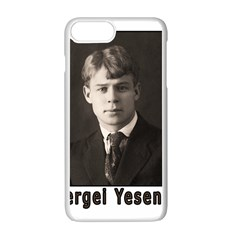 Sergei Yesenin Apple Iphone 7 Plus White Seamless Case by Valentinaart