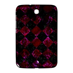 Square2 Black Marble & Burgundy Marble Samsung Galaxy Note 8 0 N5100 Hardshell Case  by trendistuff