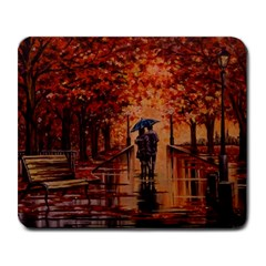 Unspoken Love  Large Mouse Pad (rectangle)