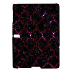Tile1 Black Marble & Burgundy Marble Samsung Galaxy Tab S (10 5 ) Hardshell Case  by trendistuff