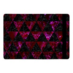 Triangle3 Black Marble & Burgundy Marble Apple Ipad Pro 10 5   Flip Case by trendistuff