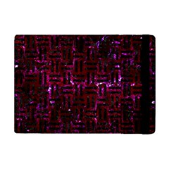 Woven1 Black Marble & Burgundy Marble (r) Ipad Mini 2 Flip Cases by trendistuff