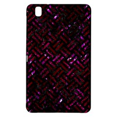 Woven2 Black Marble & Burgundy Marble Samsung Galaxy Tab Pro 8 4 Hardshell Case by trendistuff