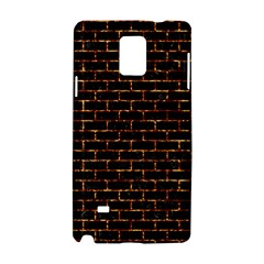 Brick1 Black Marble & Copper Foilper Foil Samsung Galaxy Note 4 Hardshell Case by trendistuff