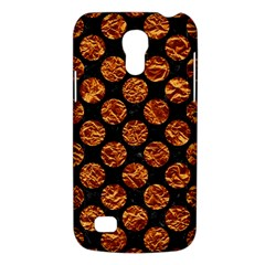 Circles2 Black Marble & Copper Foil Galaxy S4 Mini by trendistuff