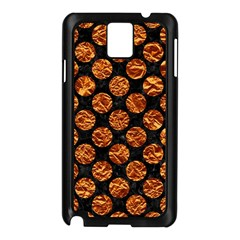 Circles2 Black Marble & Copper Foil Samsung Galaxy Note 3 N9005 Case (black) by trendistuff