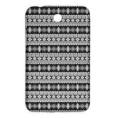 Fancy Tribal Border Pattern 17b Samsung Galaxy Tab 3 (7 ) P3200 Hardshell Case  by MoreColorsinLife